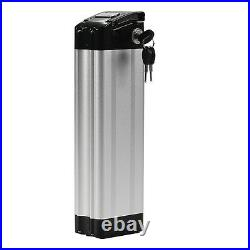 Fish for Prophete 36V10Ah(360Wh) Lithium-ion E-bike Battery Silver +Charger