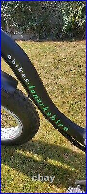 Folding Fat Tyre Electric Bike