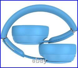 Genuine Beats Solo Pro Wireless On-Ear Headphones Light Blue BRAND NEW SEALED