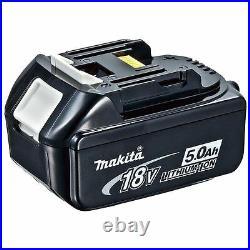 Genuine Makita BL1850B 18v 5.0Ah Li-ion LXT Battery Pack of 2