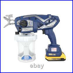 Graco Airless Paint Spray Battery 20V Lithium-Ion Low Overspray Pressure