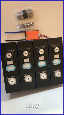 LIFEPO4 Lithium Iron Phosphate Battery 12.8v 200Ah 3.2v cells + BMS 12v 24v
