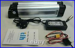 Li-ion Battery for electric bicycle e-bike 24V 10Ah 10.4 Lithium battery charger