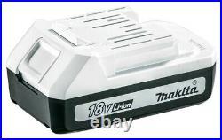 Makita 18v Impact Driver Cordless Lithium Ion + 2 x 1.5ah G-Series TD127DWE
