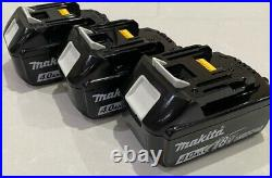 Makita 18v Lxt Lithium Ion Bl1840 4.0ah 3 Pack Battery Indicator Genuine