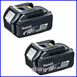 Makita 18v Lxt Lithium Ion Bl1840 Battery 4.0ah Star Marked Genuine 2 Batteries