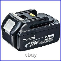 Makita 18v Lxt Lithium Ion Bl1840 Genuine Battery 4.0ah Star Marked 3 Pack