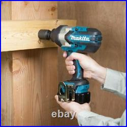 Makita DTW1002Z Impact Wrench 18V Brushless LXT Li-ion 1/2 Inch Drive Body Only