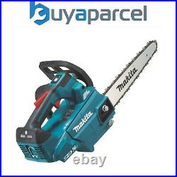 Makita DUC256Z Twin 18v / 36v LXT Cordless Lithium Ion Chainsaw 250mm Bare Unit