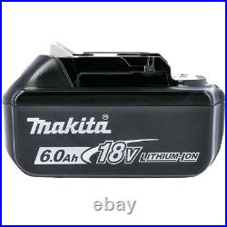 Makita Genuine BL1860 18V 6.0ah Lithium-ion LXT Battery UK TWIN-PACK