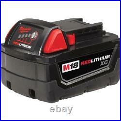 Milwaukee 18V Lithium Ion Cordless Combo Kit 10 Tool Set 2 Batteries Charger Bag