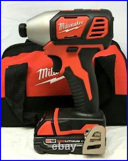 Milwaukee 2691-22 M18 18-Volt Cordless Power Lithium-Ion 2-Tool Combo Kit N