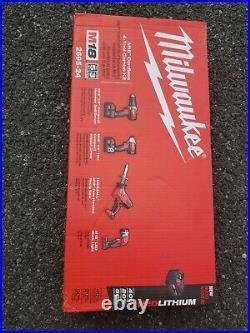 Milwaukee 2695-24 M18 18-Volt Cordless Power Lithium-Ion 4-Tool Combo Kit