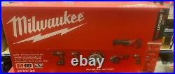Milwaukee 2696-26 M18 Cordless Lithium-Ion 6-Tool Combo Kit New