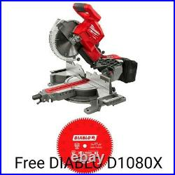 Milwaukee 2734-20 18V Brushless 10 in. Miter Saw (Tool Only) New