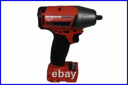 Milwaukee 2754-20 M18 FUEL 3/8 Compact Impact Wrench Tool Only with Friction Ring