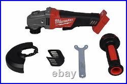 Milwaukee 2780-20 M18 FUEL 4-1/2 / 5 Grinder, Paddle Switch No-Lock