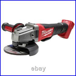 Milwaukee 2780-20 M18 FUEL 4-1/2 / 5 Grinder, Paddle Switch No-Lock Tool Onl