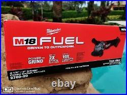 Milwaukee 2780-20 M18 FUEL Cordless Brushless Grinder 4 1/2, 5 18 Volt 18V
