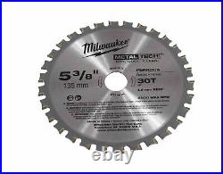 Milwaukee 2782-20 M18 Fuel 18v Brushless Lithium-ion 5-3/8cordless Metal Saw