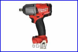Milwaukee 2861-20 M18 FUEL 1/2 Mid-Torque Impact Wrench with Friction Ring