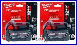 Milwaukee 48-11-1850 2 Pack M18 REDLITHIUM XC5.0 Batteries