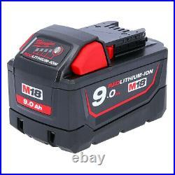 Milwaukee Genuine M18B9 9.0Ah 18V Red Lithium Ion High Demand Battery