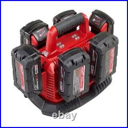Milwaukee M18 Rapid Charging Station Power Tools Lithium Ion Battery Charger