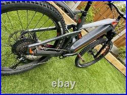Mondraker e crusher r+ Top Level e-MTB Full Suspension / Carbon Fibre