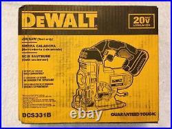 New Dewalt DCS331B 20 Volt 20V Max Cordless Jig Saw (Bare Tool) NIB