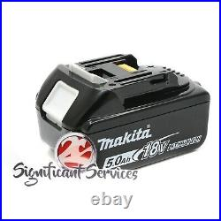 New Makita XSS02Z 18V LXT 5.0 Ah Li-Ion Cordless Battery 6-1/2 Circular Saw