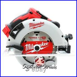 New Milwaukee 2631-20 M18 18V 7-1/4 Brushless Cordless Lithium Ion Circular Saw