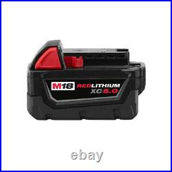 New Milwaukee M18 Cordless 4-1/2 Cut-off / Grinder Battery 48-11-1850 Charger