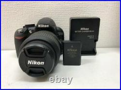 Nikon D3100 14.2 MP DSLR Camera Kit with AF-S DX VR 18-55mm Lens Battery Charger