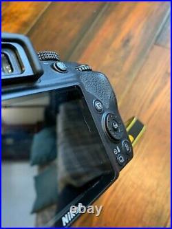 Nikon D3300 DSLR Camera with AF-P DX 18-55 VR Lens + Spare Batteries + Carry Bag
