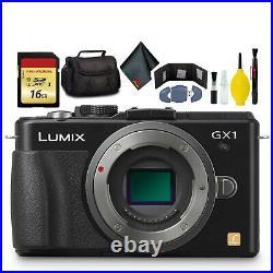 Panasonic LUMIX DMC-GX1 Camera Body Kit Box-No Lens Battery Charge 16GB