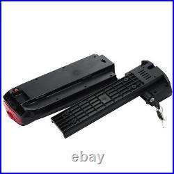 Phylion Battery 36V 10AH SF-03 E-bike Battery Lithium-ion Rear Battery Black