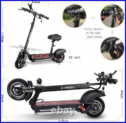 Power 13.2AH BRAND NEW Folding Electric Bike Scooter Motorcycle UK SELLER