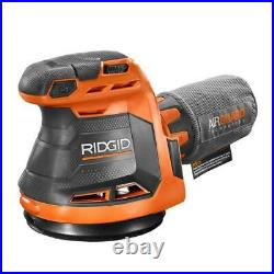 RIDGID Tool Combo Kit 18-Volt Lithium-Ion Cordless Battery Charger Bag (8-Piece)