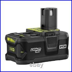 RYOBI Cordless Combo Kit 6-Tool 18-Volt Lithium-Ion Batteries Charger Bag