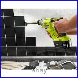Ryobi P222 18-Volt ONE+ Lith-Ion 1/2 SDS-Plus Rotary Hammer Drill (Tool Only)