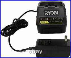 Ryobi P261 18V ONE+ 1/2 in. Cordless Impact Wrench with Charger and 4Ah Battery