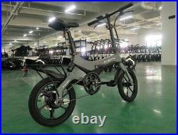 S6 Electric Folding Bike E Bike Electric Folding Bicycle 16 not Onebot