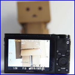 SONY DSC-RX100 M5 V 20.2 MP BLACK DIGITAL CAMERA Noise Zoom
