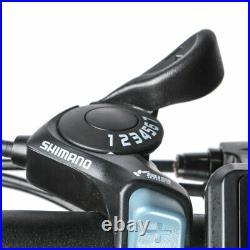 Samebike 20 UPGRADED Version II 350W Black Folding Electric Bike 20LVXD30 eBike