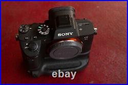 Sony Alpha 7R III 42.4 MP Digital Camera Body, plus battery grip with 2 batteries