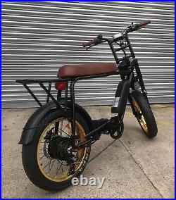 Super 73 Style Fat tyre Rocket 88 electric bike By Red Rocket Lifestyle