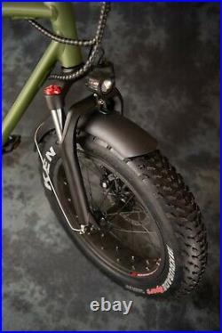 The Cruiser Retro 250w / 750w Electric E Bike Road Legal 2 Seater