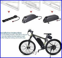 UK 48V 13Ah Li-ion Battery Panasonic 2600mah Cells for Ebike Electric Motorbike