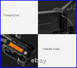 UK STOCK! Fiido M1 Moped Folding Electric Bike 20 In Fat Tires 250W 7 Speeds